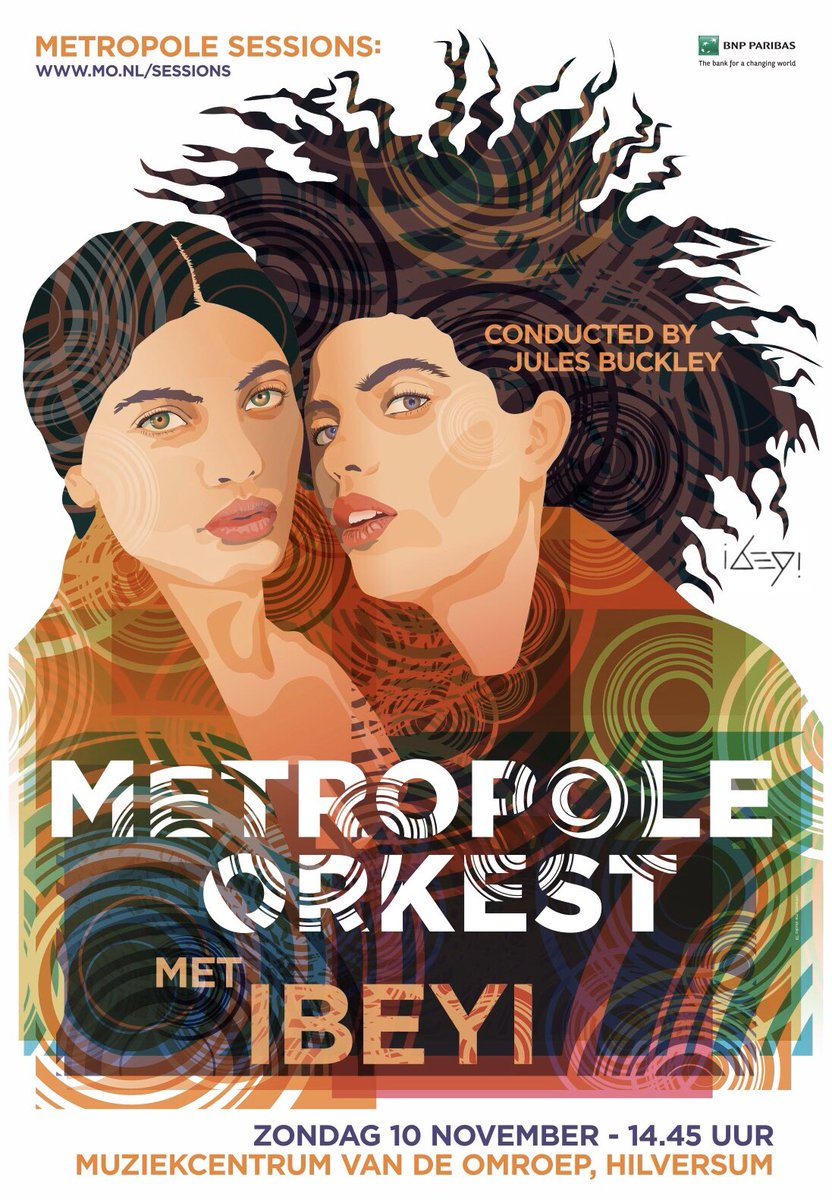This November @IbeyiOfficial will be appearing live with the @MetropoleOrkest for some very special shows, reimagining their music in full orchestral glory.  Tickets are now on sale for the final show at Hilversum, NL: