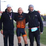 Amazing duathlon relay today at the Olympic Velopark. Amongst a top field @CamGeekie7 and @reece_barclay put everything on the line to clinch 1st in the most thrilling way possible. Absolute dream team! @TORQfitness #TORQFuelled @gllsf