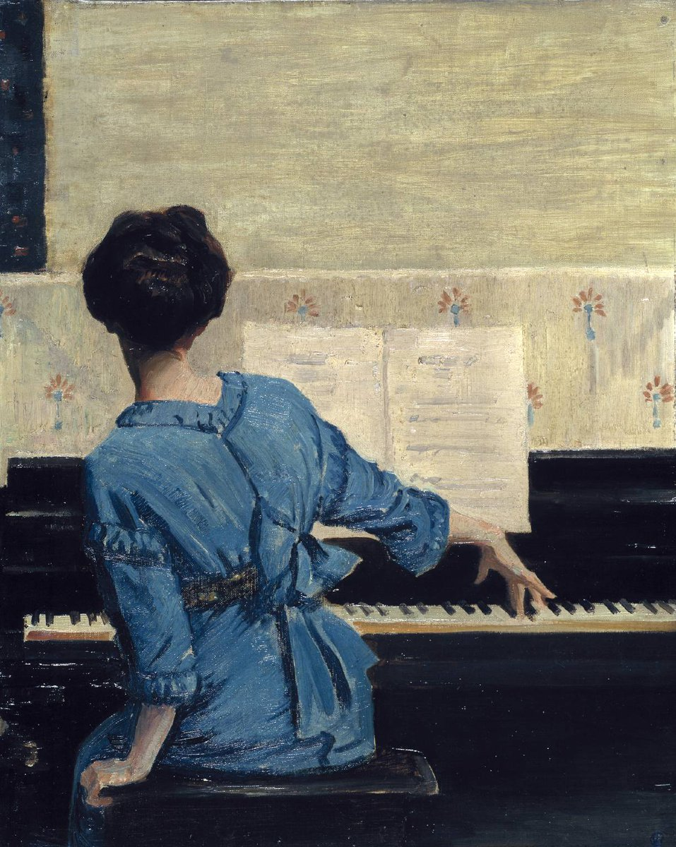 What does your weekend sound like? 🎵 William Chase, The Keynote 1915, Tate collection bit.ly/2NxplQG