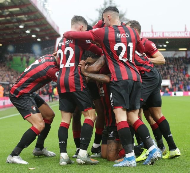 Great win yesterday for the team👏🏼thanks for the support🙌🏼🍒@afcbournemouth