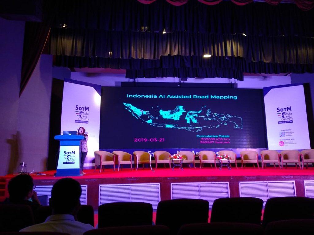 Presentasi di State of the Map Asia 2019