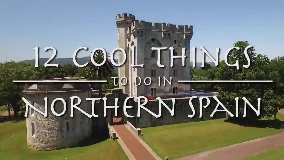 Want a change of scenery? Visit Northern #Spain!    Here are 12 cool things to do on your #trip! #GreenSpain #BasqueCountry #Cantabria #Asturias #Galicia #NorthernSpain #VisitSpain #TravelIdeas #holidays #vacation #travel #summer #hotel #wanderlust