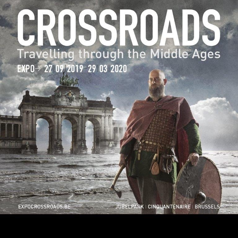 "Huns, Byzantines, Merovingians, Goths, Irish, Slavs, Longobards, Arabs, Avars, Vikings, Egyptians, Persians, Carolingians.  Visiting ""Crossroads: travelling through the Middle Ages"" in the Brussels Art & History Museum.  #AHMBrussels #Crossroads  https://t.co/tRqYD05ttI https://t.co/OqVvtv5VTe"