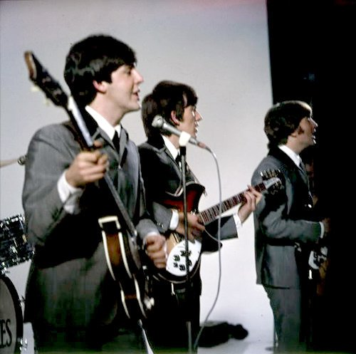 Paul, George and John filming A Hard Days Night, 1964 #TheBeatles via @SgtPepper1710