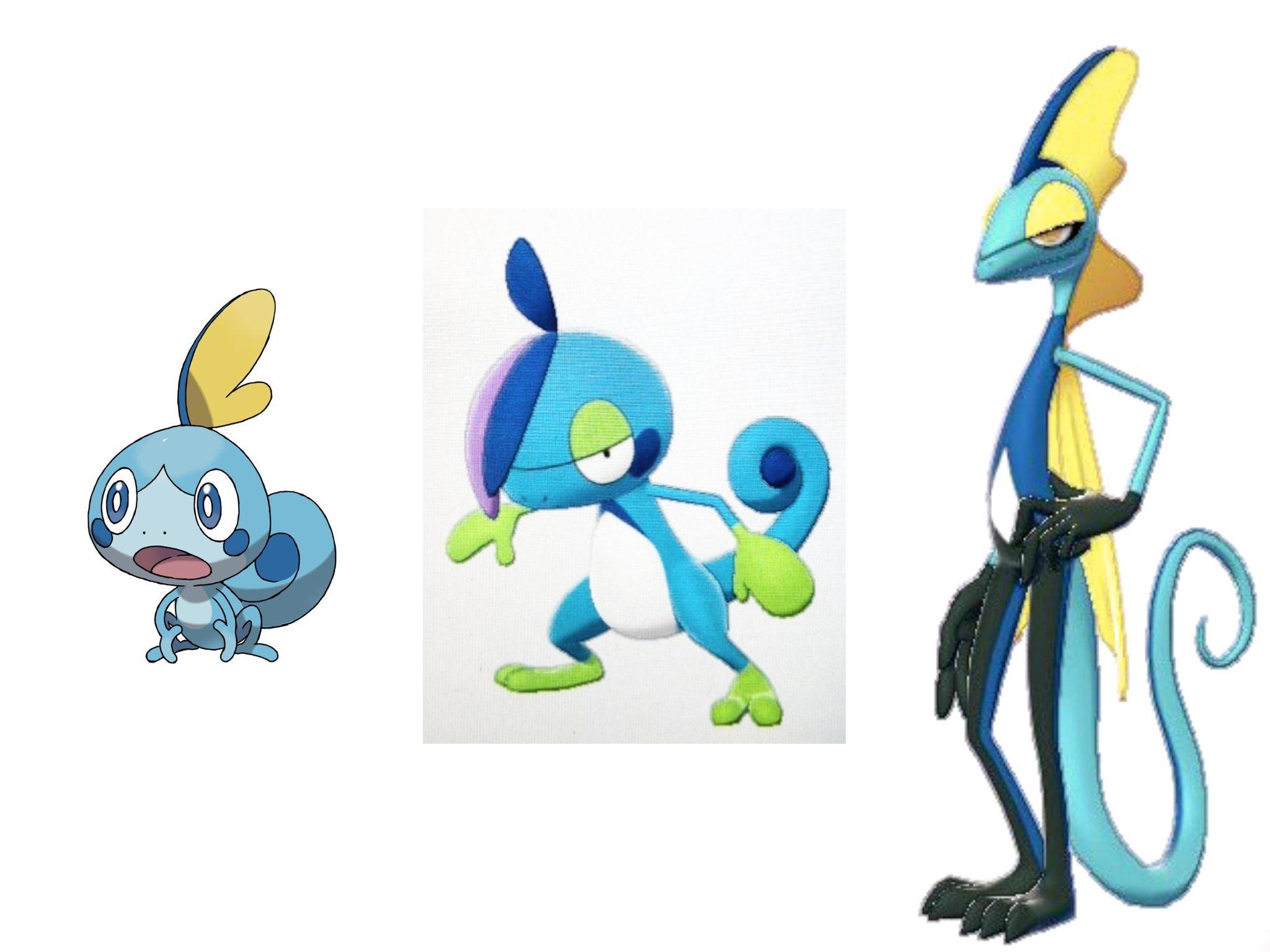 Pokemon Schwert Und Schild Starter Entwicklung