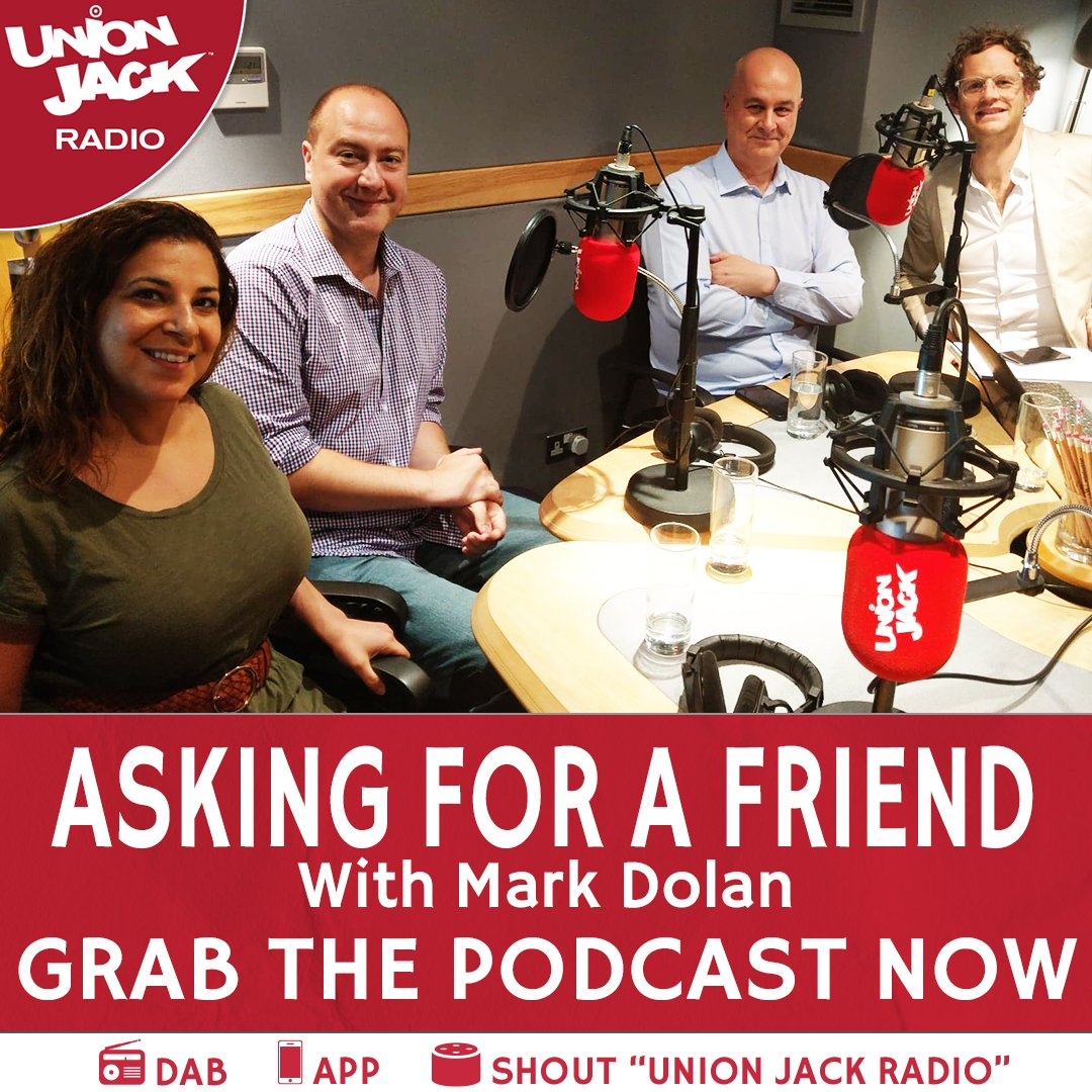 🚨#AskingForAFriend PODCAST OUT NOW🚨 A bit of incest, a game for all the family @mrmarkdolan & his panel of celebrity experts @MariaShehata, @mrstevenallen & @IainDale answered the questions you dared not ask! SPOTIFY spoti.fi/2o5YB0P iTUNES apple.co/2oGDWR2