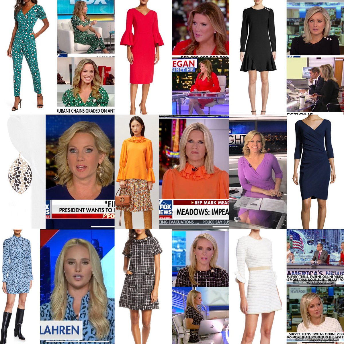 Some of my favorite looks worn on Fox this week are still available! Visit the blog for all the details!  https://foxnews.fashion.blog/anchors/  #foxnews #foxnewsfashion pic.twitter.com/nzlAaXzAOu