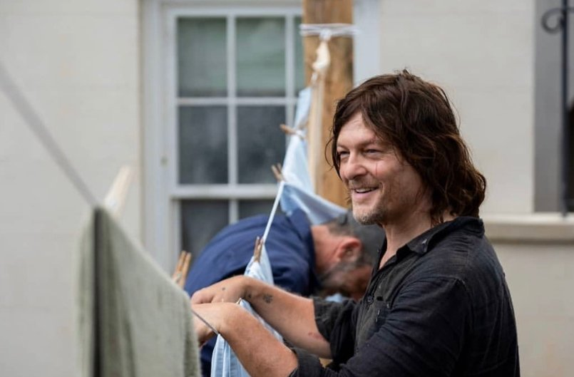 Best Of Daryl Dixon Norman Reedus On Twitter Norman Reedus Behind The Scenes Of Season 10 Episode 4 Norman reedus was born in hollywood, florida, to marianne and norman reedus. best of daryl dixon norman reedus on