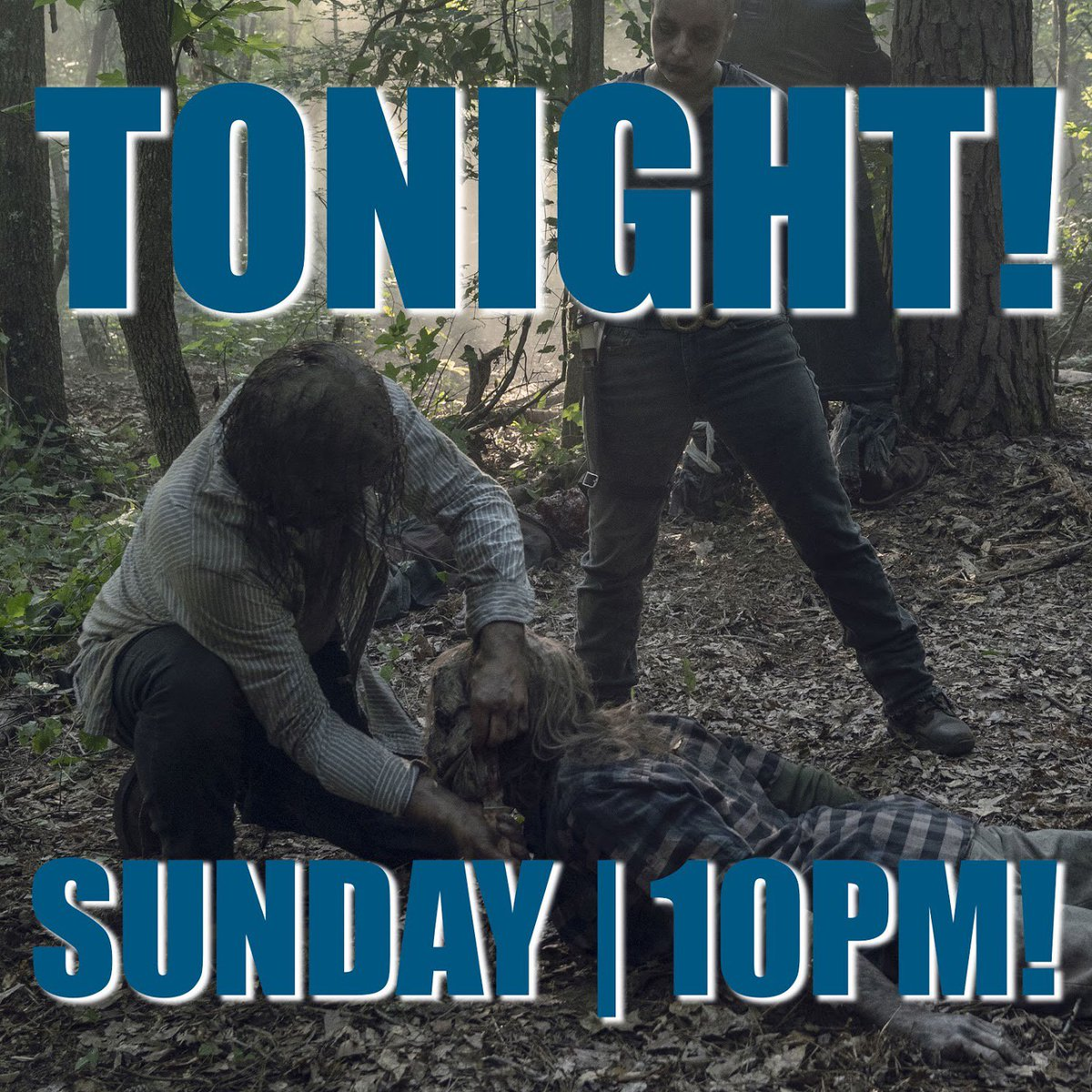 """When you're done picking your jaw up off the floor after tonight's episode of #TWD, don't forget that #TalkingDead is on LIVE right after! Our guests are Eleanor Matsuura (Yumiko), Angel Theory (Kelly), and """"This Is Us"""" star / #TWD fan Chris Sullivan!"""
