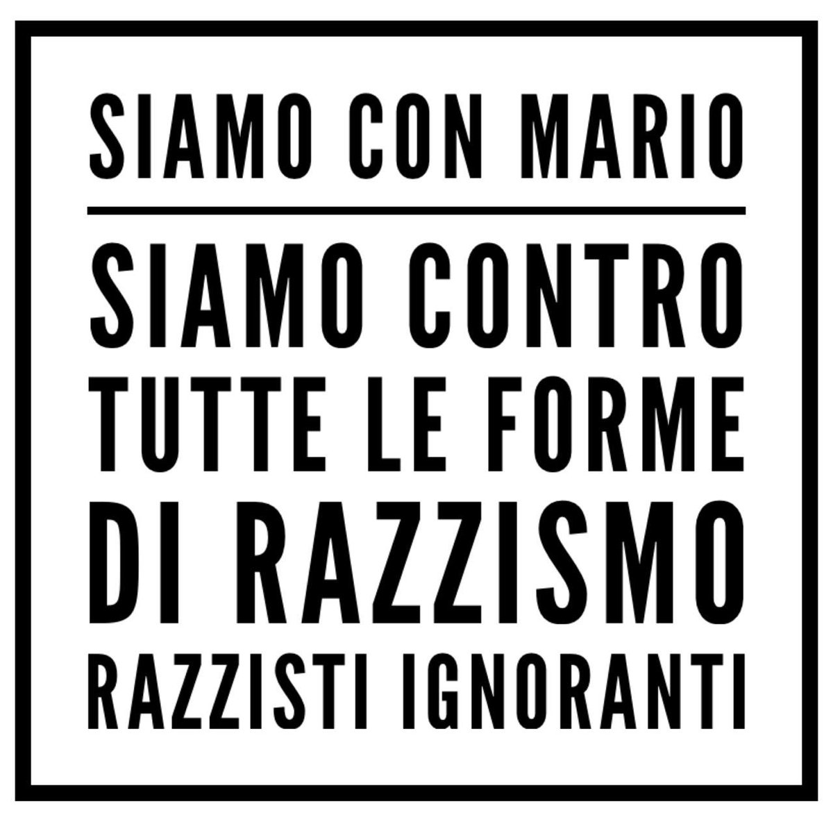 #NoRacism @FinallyMario https://t.co/z7itvDsmXR