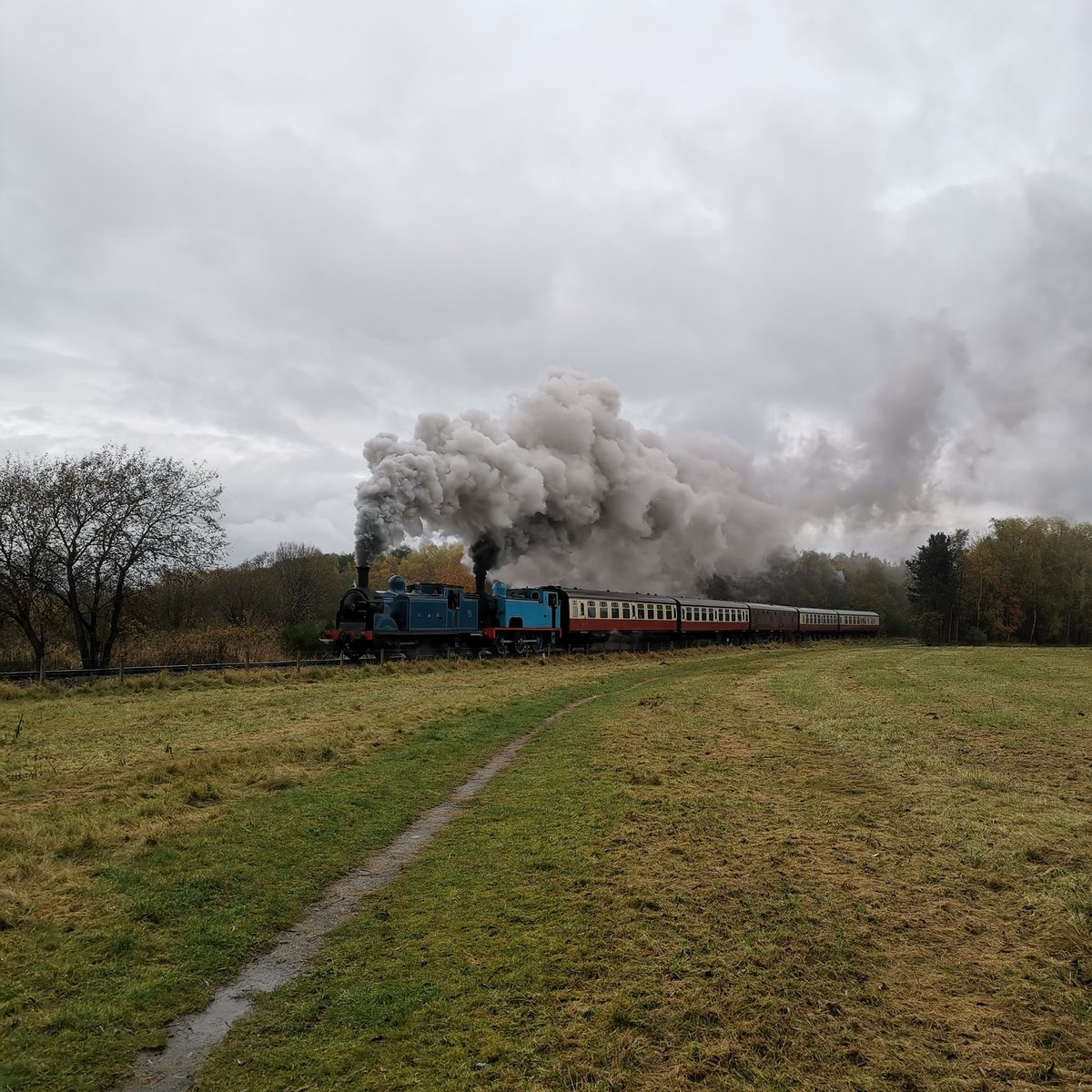 test Twitter Media - RT @RyanEdge05: #AutumnSteamGala @bonessrailway @srpssteam https://t.co/ObRe285MoN