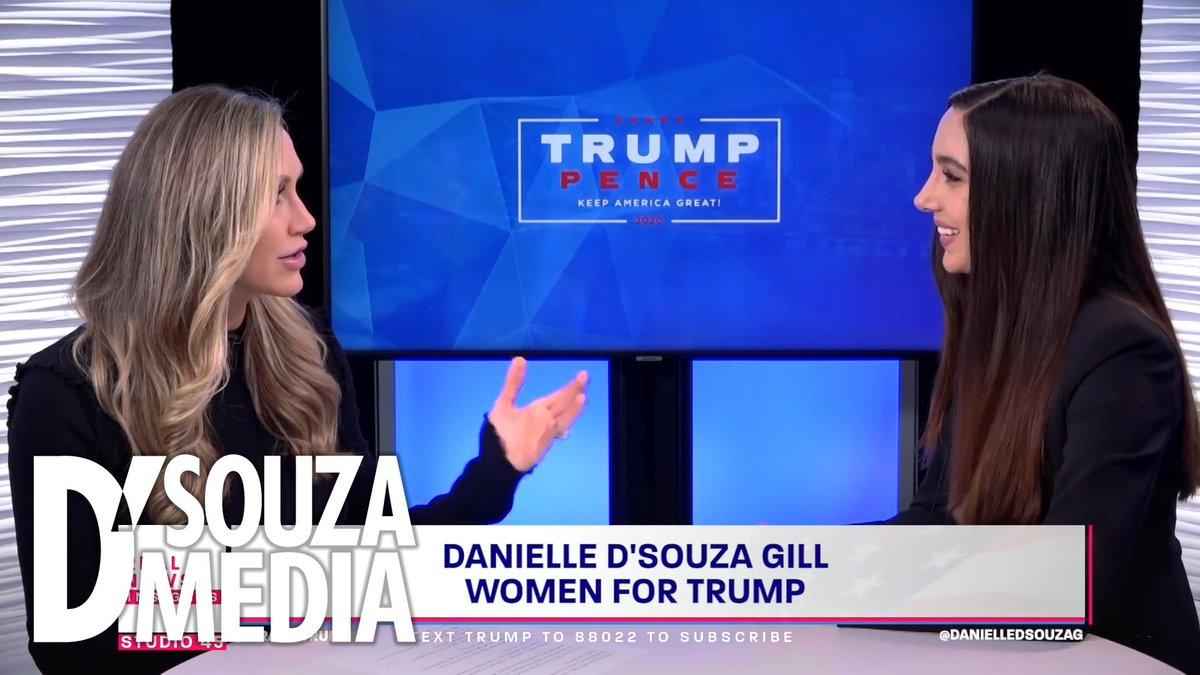 The impeachment hoax shows that Democrats are terrified of a fair 2020 fight! My daughter @DanielleDSouzaG breaks it all down with @LaraLeaTrump here 👉🏻 dineshdsouza.com/danielleandlara @realDonaldTrump @TrumpWarRoom @WomenforTrump @TeamTrump