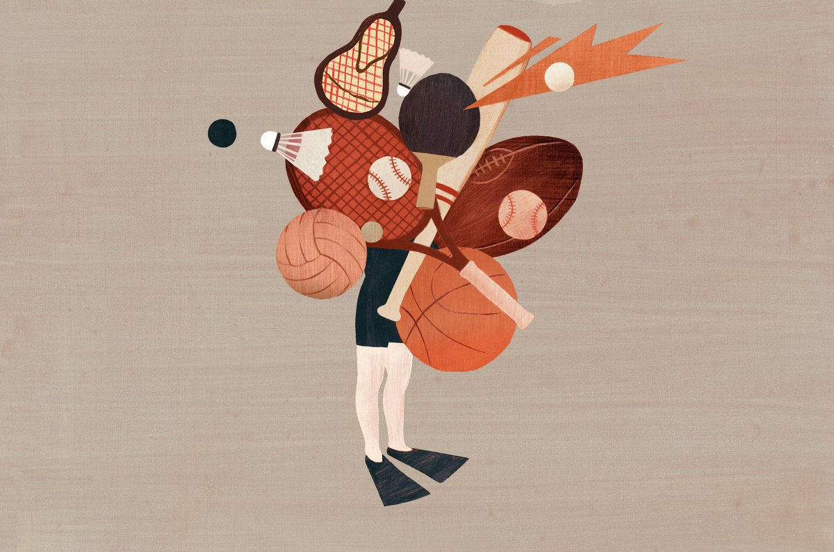 How to avoid burnout in youth sports, via the @NYTimes. #ADM → nyti.ms/2HYhBr2