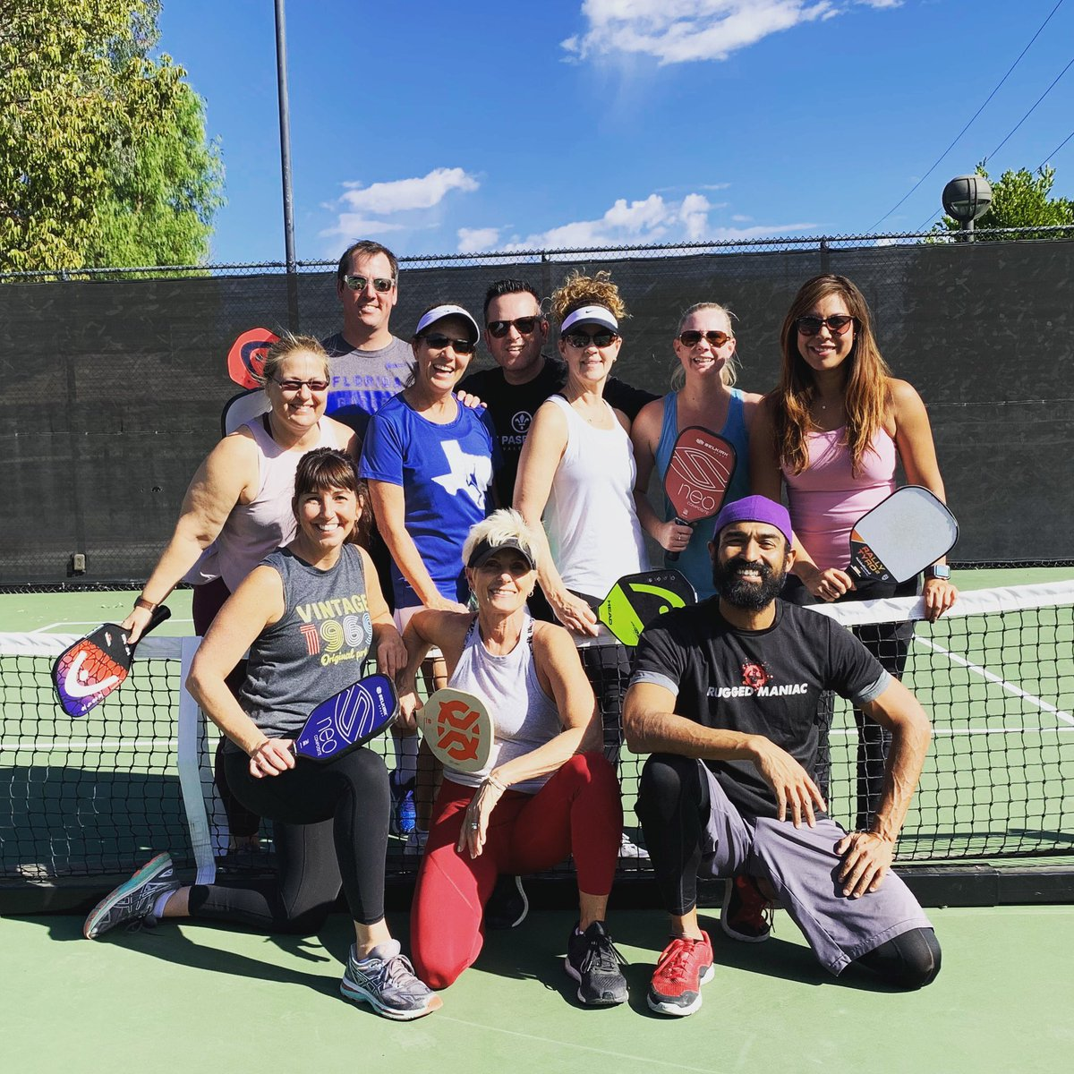 Congratulations to the Greatest Results group @PaseoClub for trying out Pickleball for the first time. We had a great time. #mothergooseandmoose #pickleball #greatestresults #pickleballwithmoosepic.twitter.com/NtqkTsP0xB