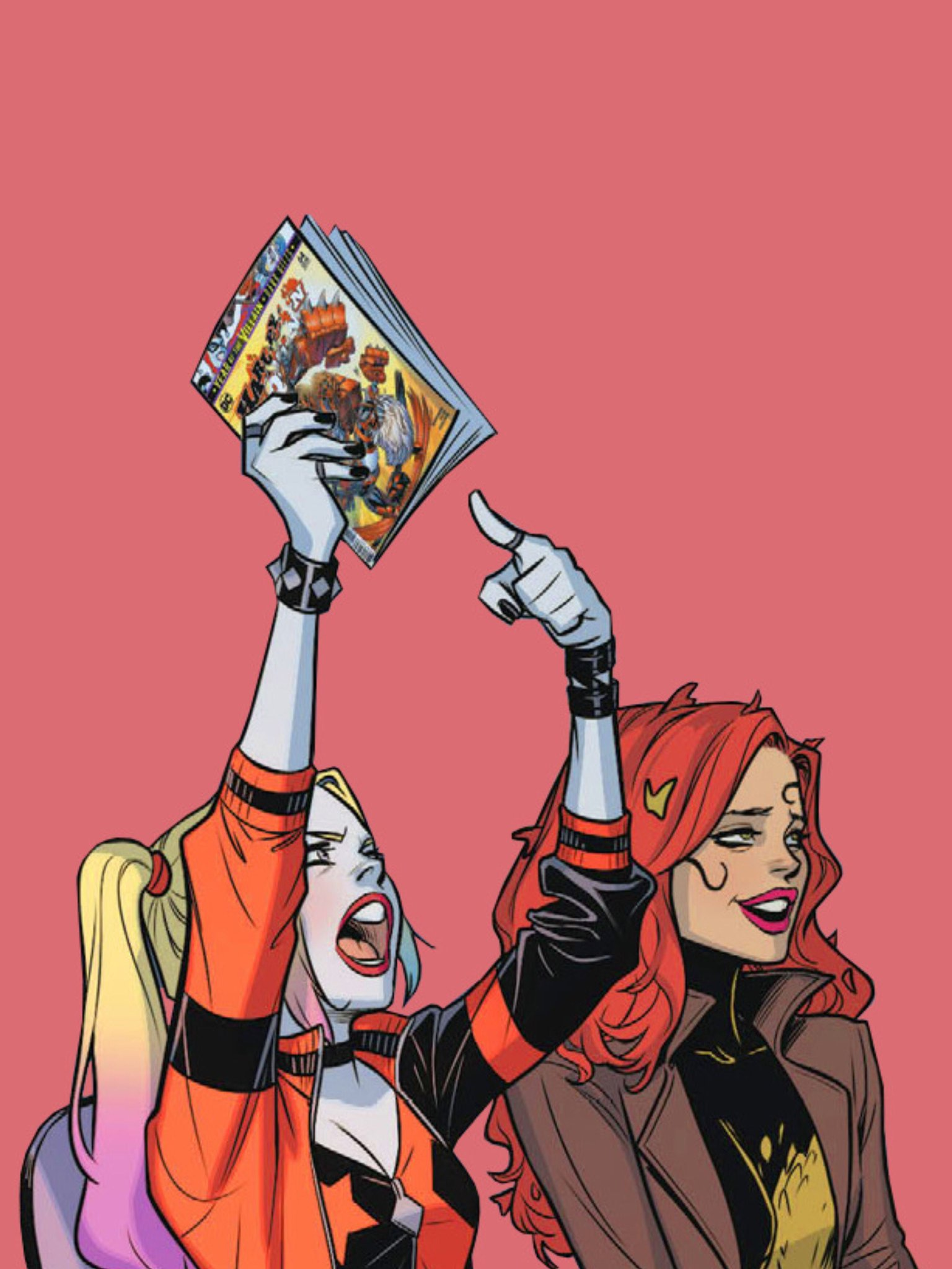 彡 On Twitter Harley And Poison Ivy In Harley Quinn 2016 64