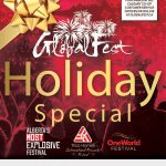 Image for the Tweet beginning: GlobalFest Holiday tickets and GlobalPassss