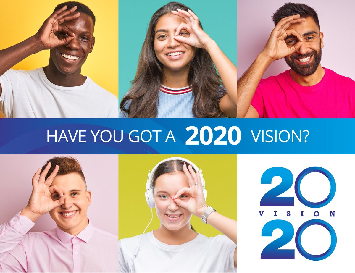 Have YOU got a 2020 Vision? It's never too early to set your goals for New Year. Perhaps you need to refresh job skills or learn new ones? We've got part + full-time courses starting in January, so visit our webpage and let us help you to get a plan. bit.ly/2PILUon