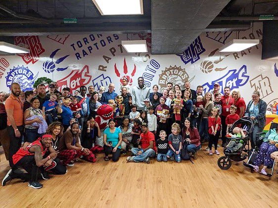 Words can't begin to explain how special today was at @rmhctoronto ! Thank you to @google @raptors @95theraptor @pskills43 for making this day so great and allowing us to be apart of the magic! #wethenorth #google #raptors #northsidecrew #rmhc