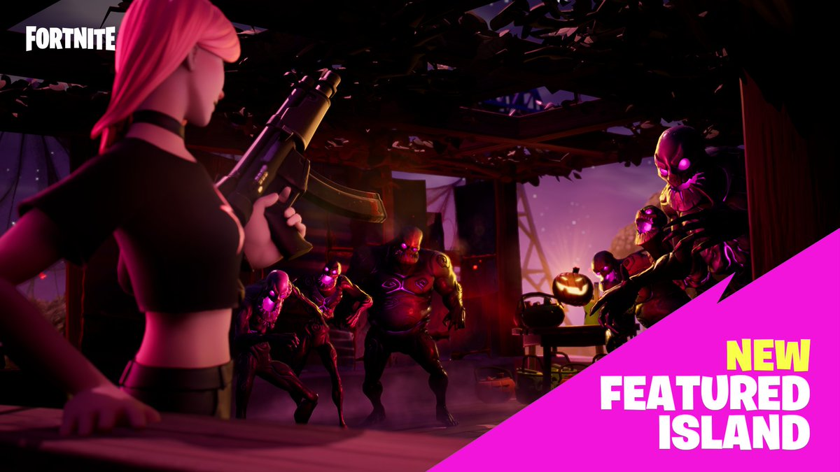 Fortnite Creative On Twitter It S The Ultimate Trick Or Treat Challenge Be The First Team To Collect All The Treats And Take Home The Win In The Latest Pvp Map From Prudiz Code