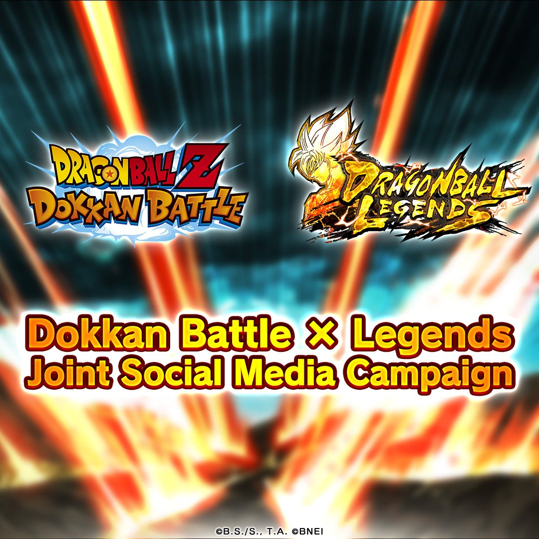[Dokkan Battle x Legends Joint Social Media Campaign!] Retweet this post and the one over at @dokkan_official to contribute! At 20K global RTs/shares across both titles, we'll release a special smartphone wallpaper! RT period ends 11/11 10:59 (JST)! #DBLegends #Dragonball #Dokkan
