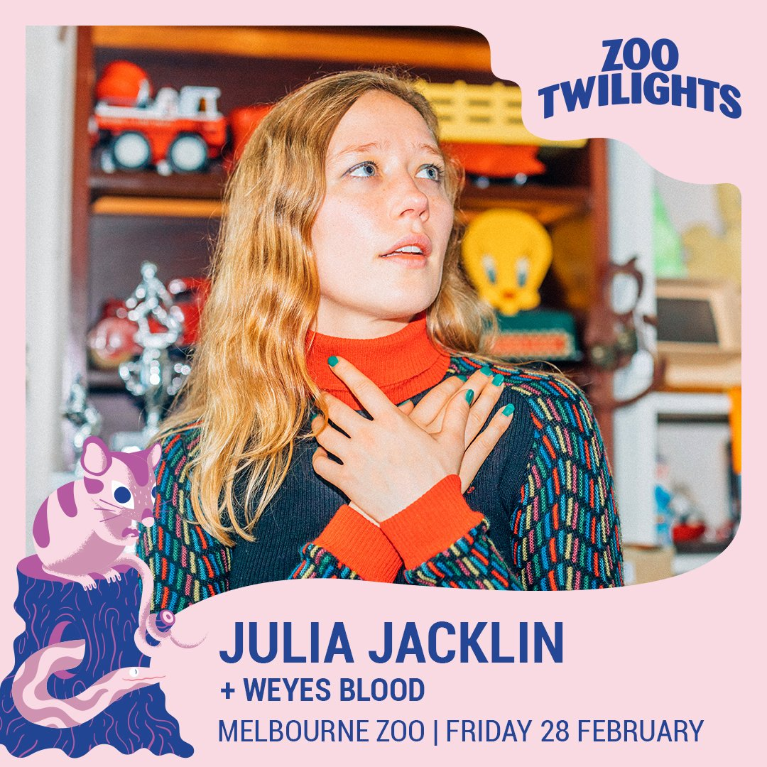 Playing for Zoo Twilights in Melbourne with the incredible @WeyesBlood. Please come xhttps://biturl.top/AfUvme