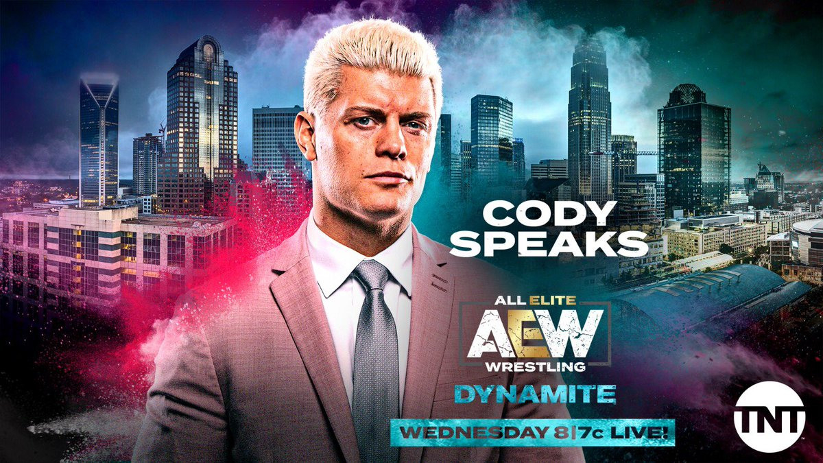 Cody Rhodes To Make Career Announcement On This Week's AEW Dynamite