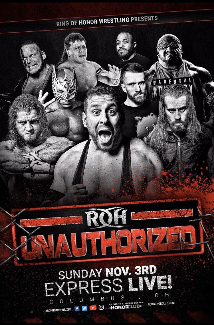 ROH Unauthorized Results (11/3): PCO Vs. Dan Maff