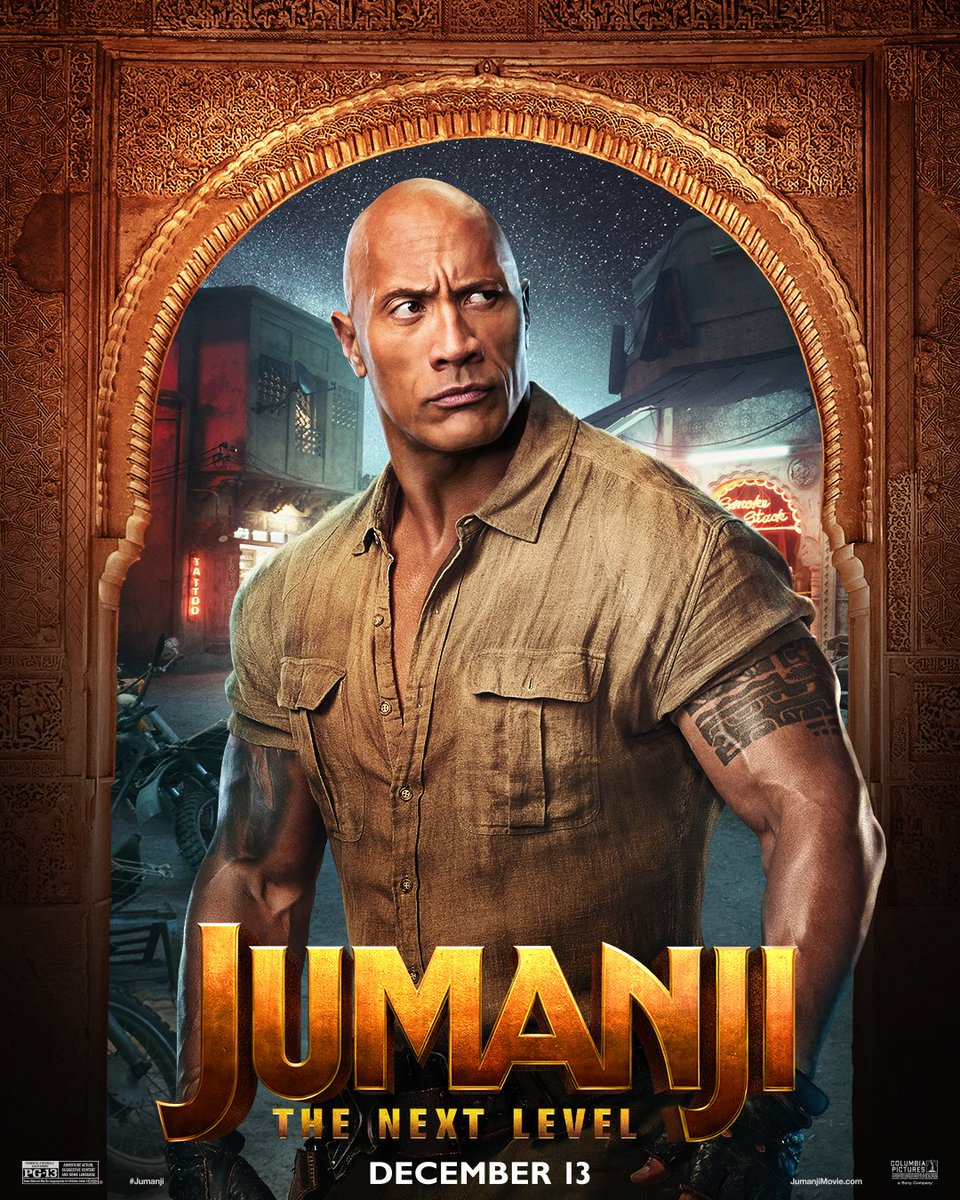 Jumanji: The Next Level's Character Posters Introduce A Newcomer And A Horse - GameSpot