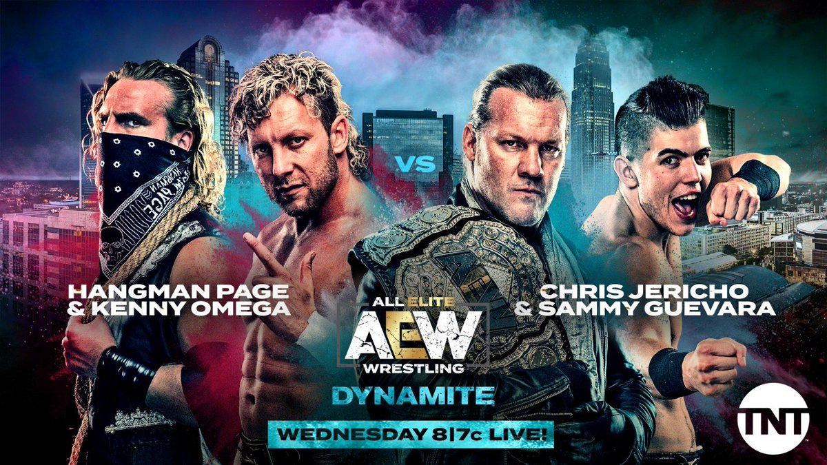 AEW Announces Big Tag Team Match For This Week's AEW Dynamite