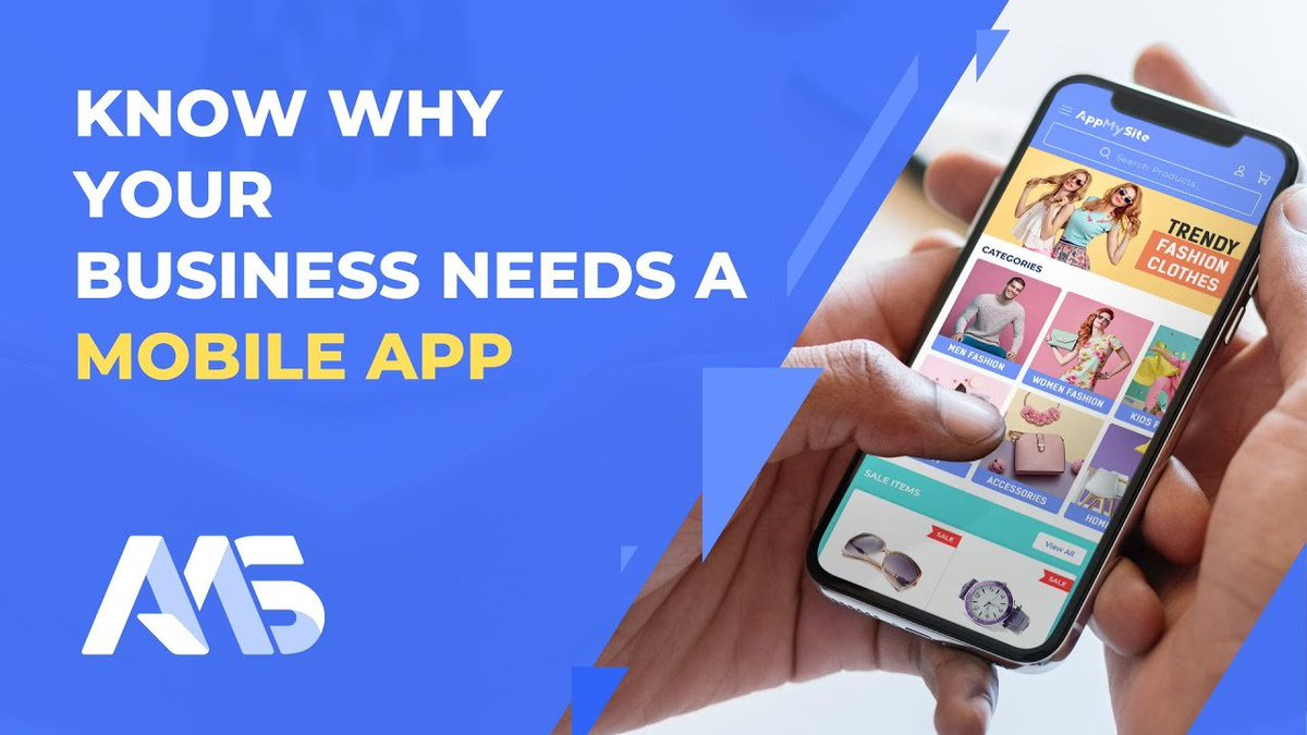 Check out our latest Youtube Video Know why your business needs a mobile app | AppMySite App Maker  #WooCommerceApp #Appbuilder #NativeApp #Android #iOS #mobileapps #appdevelopment #entrepreneur #startup #androiddeveloper #iosdeveloper   https://www. youtube.com/watch?v=JGqR8J ctebo  … <br>http://pic.twitter.com/h7NV6KAjCm