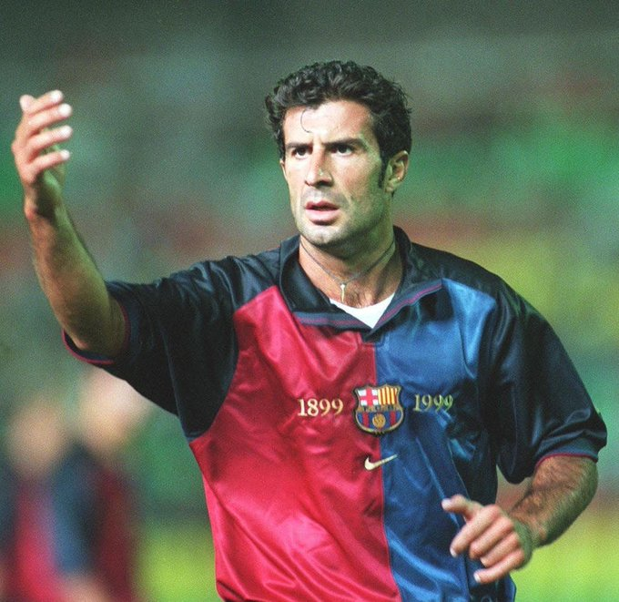 Happy 47th birthday, Luis Figo! A truly magic footballer