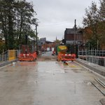 The replacement Vicars Bridge on East Cliff, Preston is taking shape @EricWrightGroup @LancashireCC