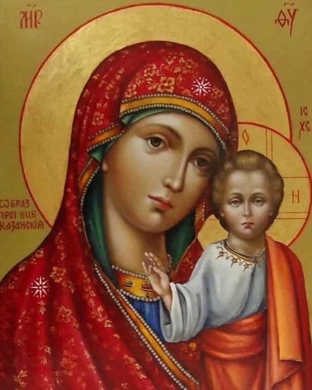Икона Казанской Божьей Матери в Майкопе