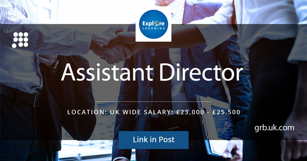 The Grb Team On Twitter Are You Looking To Start A Career In The Education Industry Apply Now Https T Co Sw0bptigjj Explore Learning Assitant Director National 25 5k Job Hiring