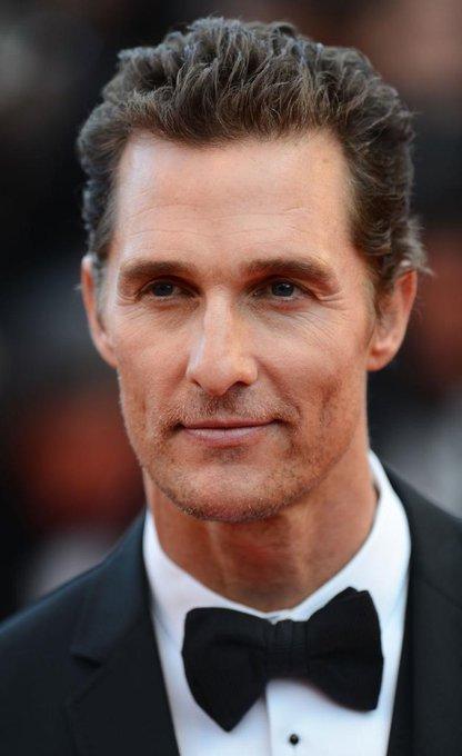Happy birthday to my favorite actor ..  Matthew McConaughey.