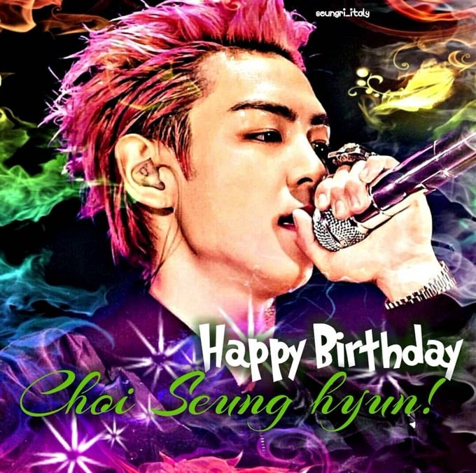 Happy Birthday Choi Seung hyun!