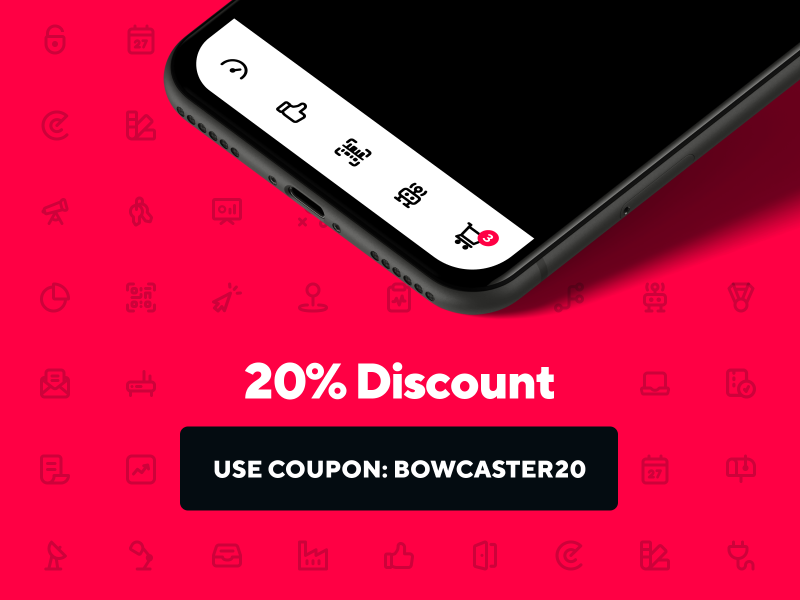🤖 Bowcaster Mega Icon Pack is Trending + 20% Discount #icondesign #iconpack #designsystem #uxflow #uxicon #iconogrsphy #ui #wireframe - https://t.co/O6LbTPjUvd https://t.co/p2fD6ZtBTc
