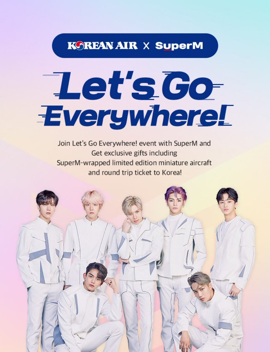 Nct Dream Center On Twitter 191104 Korean Air X Superm Let S Go Everywhere Event Https T Co Gwkbatnzbb 1 Safety Video Share Promotion 11 04 12 10 Winner 01 06 Miniature Aircraft 2 Cover Dance Challenge