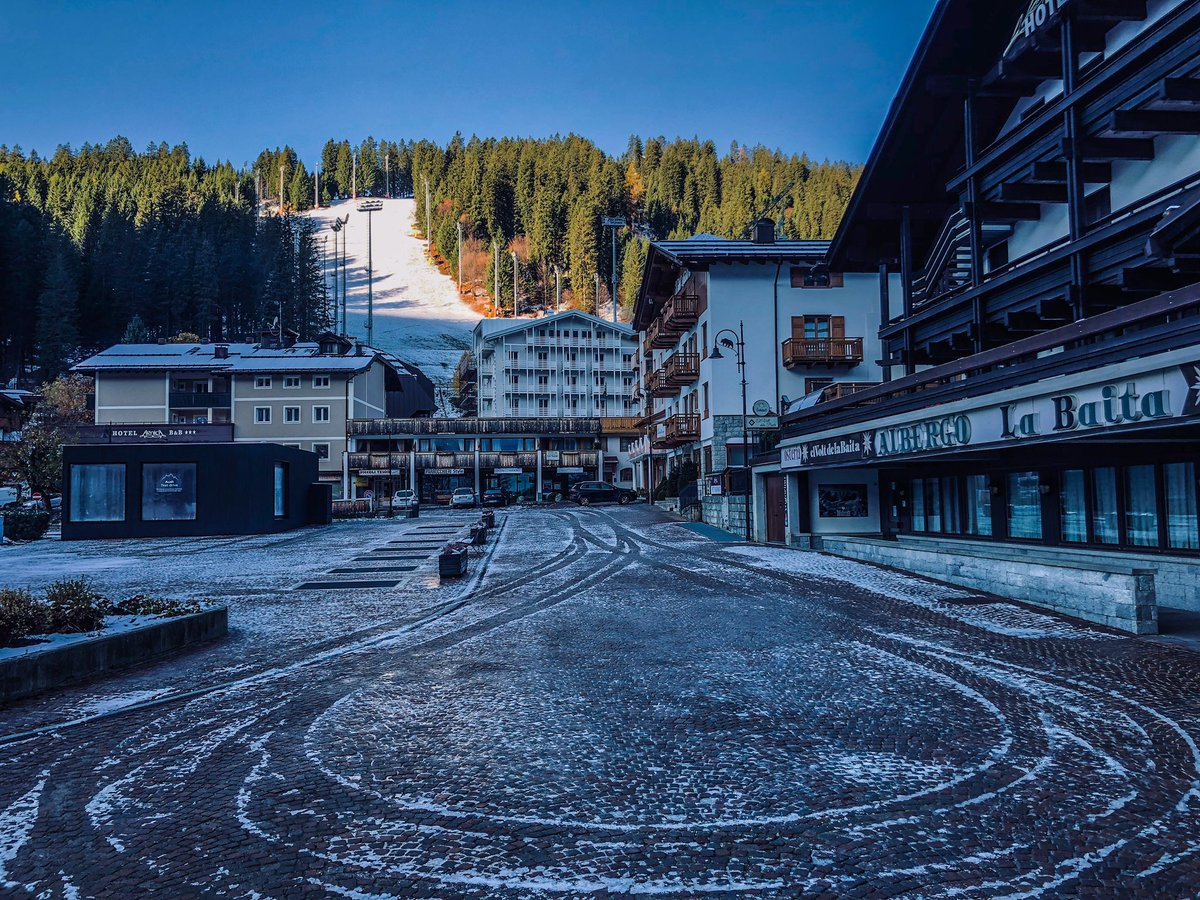 Live from the #dolomites in #madonnadicampiglio. �...