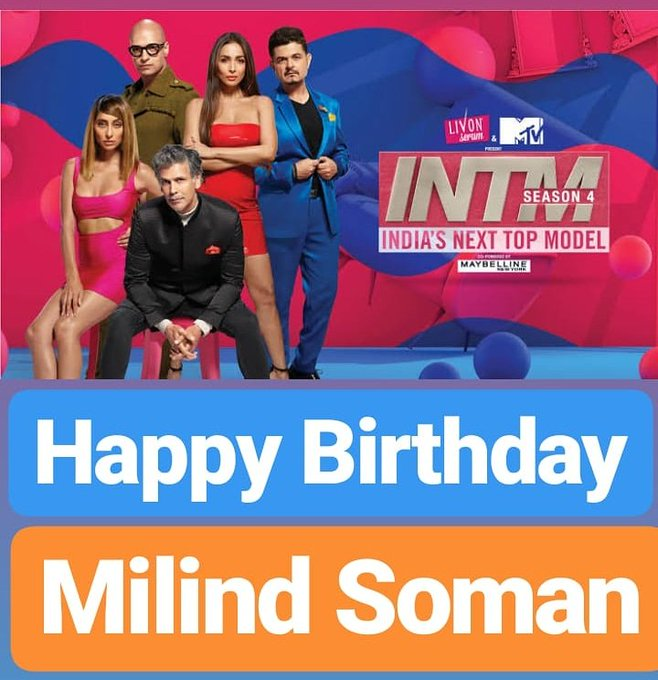 Happy Birthday  Milind Soman