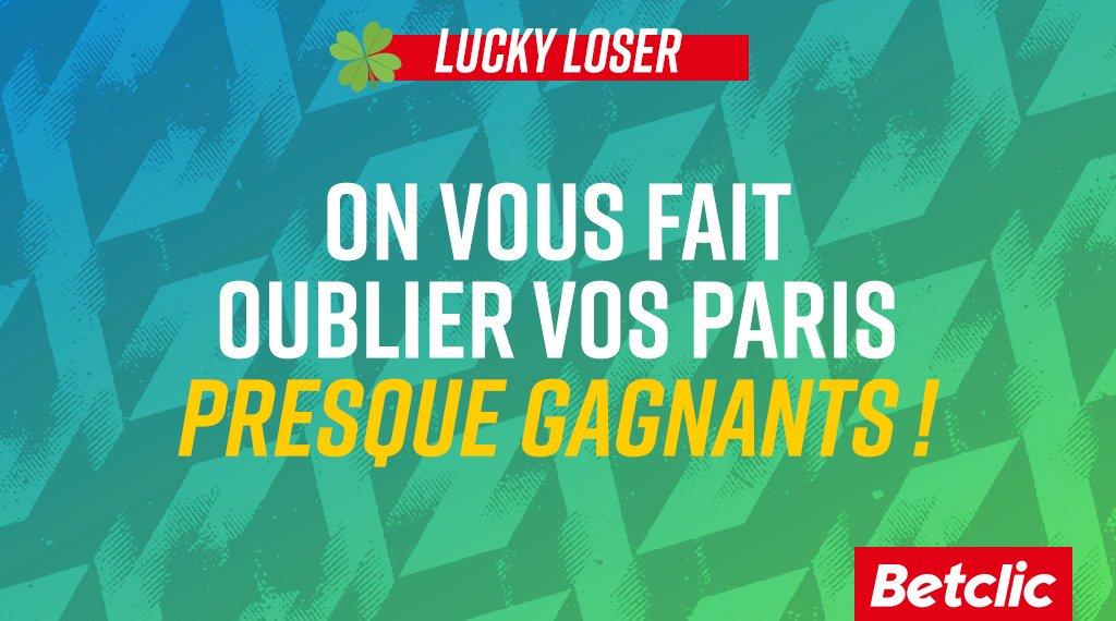 😱 Paris, le Barça, le Real, le Bayern... Ils ont ruiné ton combi ? On fait gagner 10 x 10€ de Freebets ➡️ RT + Partage un screen de ton pari perdant avec #LuckyLoser pour participer !