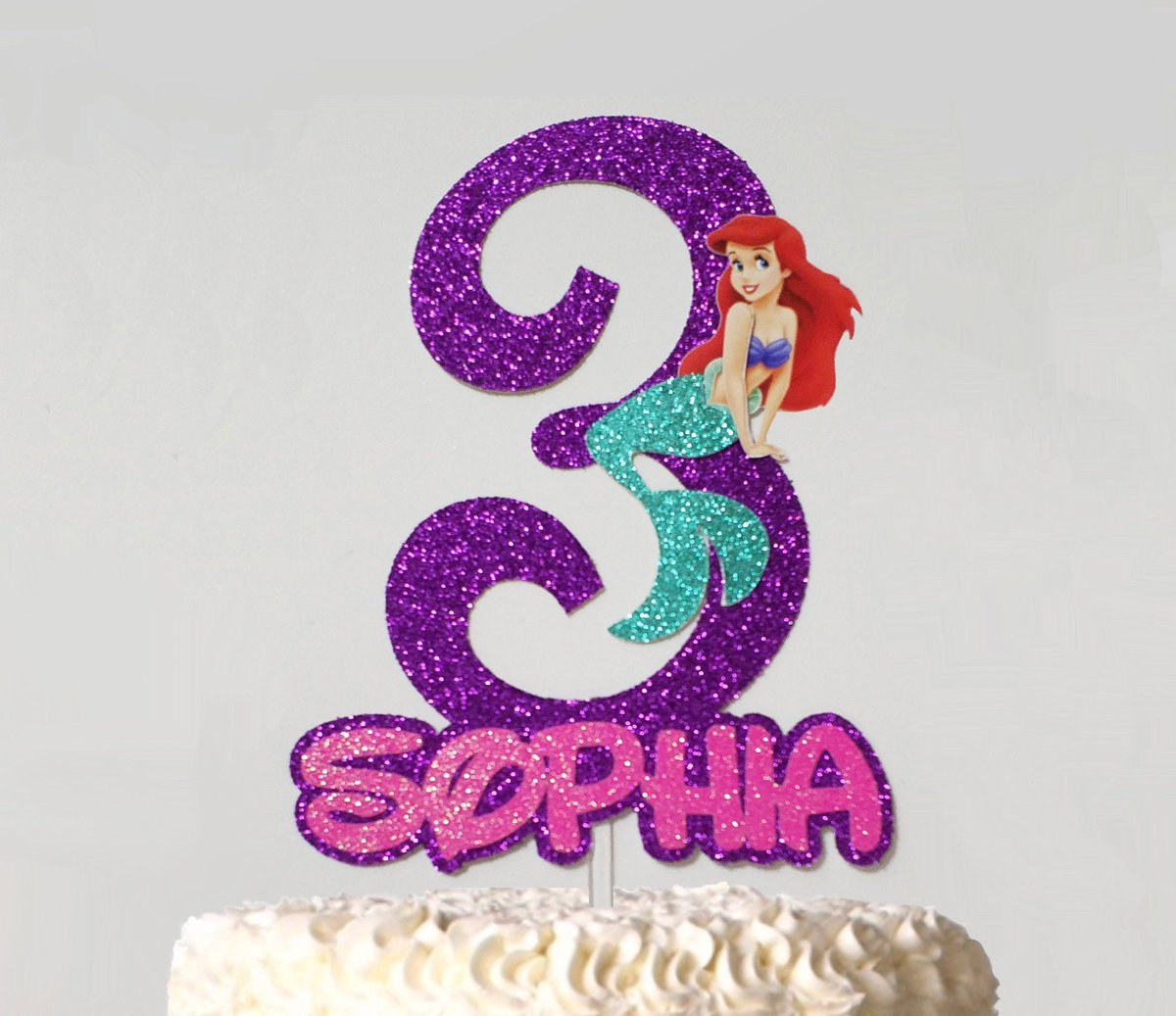 Incredible Jessica Truelove On Twitter Ariel Little Mermaid Cake Topper Funny Birthday Cards Online Drosicarndamsfinfo