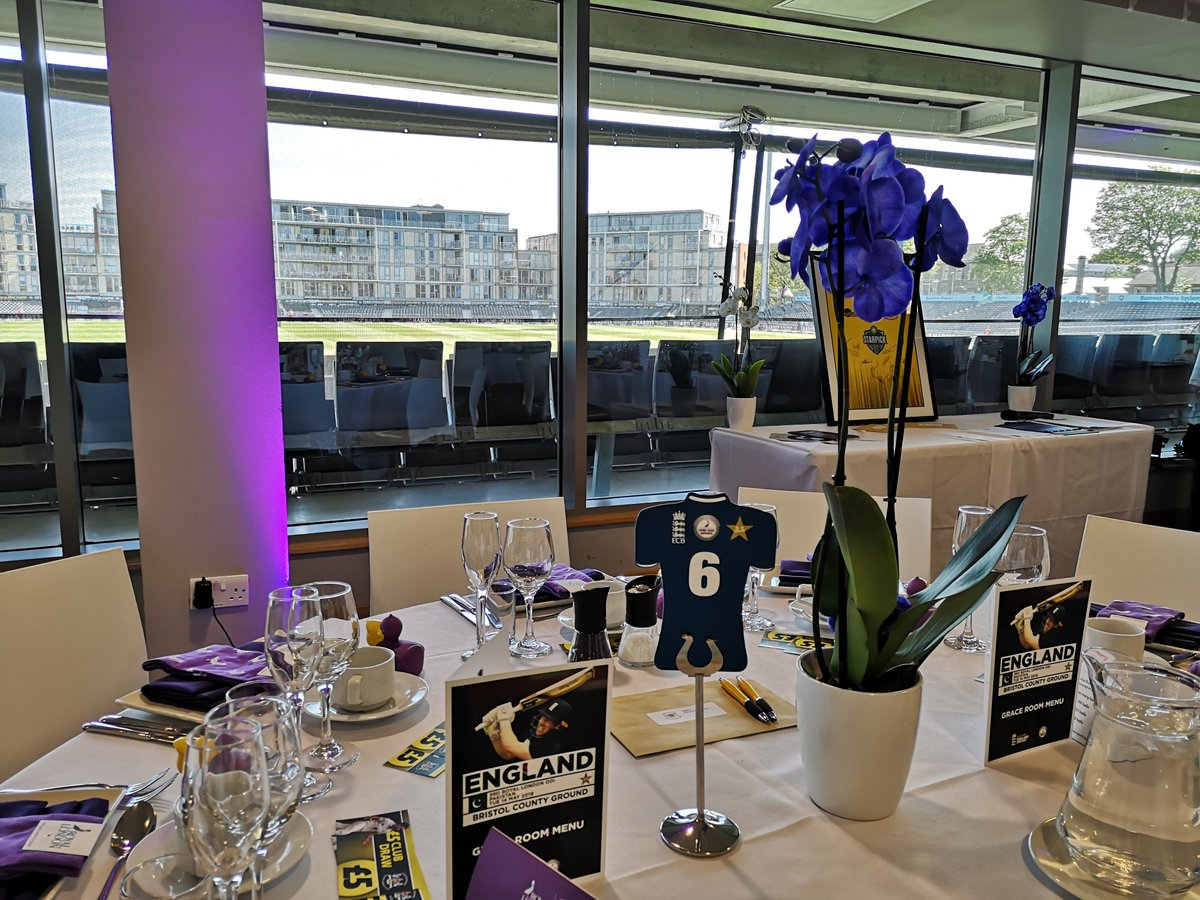 We have already had plenty of applications for our Hospitality packages for the England v Australia ODI in Bristol next year!  Apply now and don't miss out!!  Apply here 👉 https://bit.ly/2pvd7Ae  #EngvAus #Hospitality2020