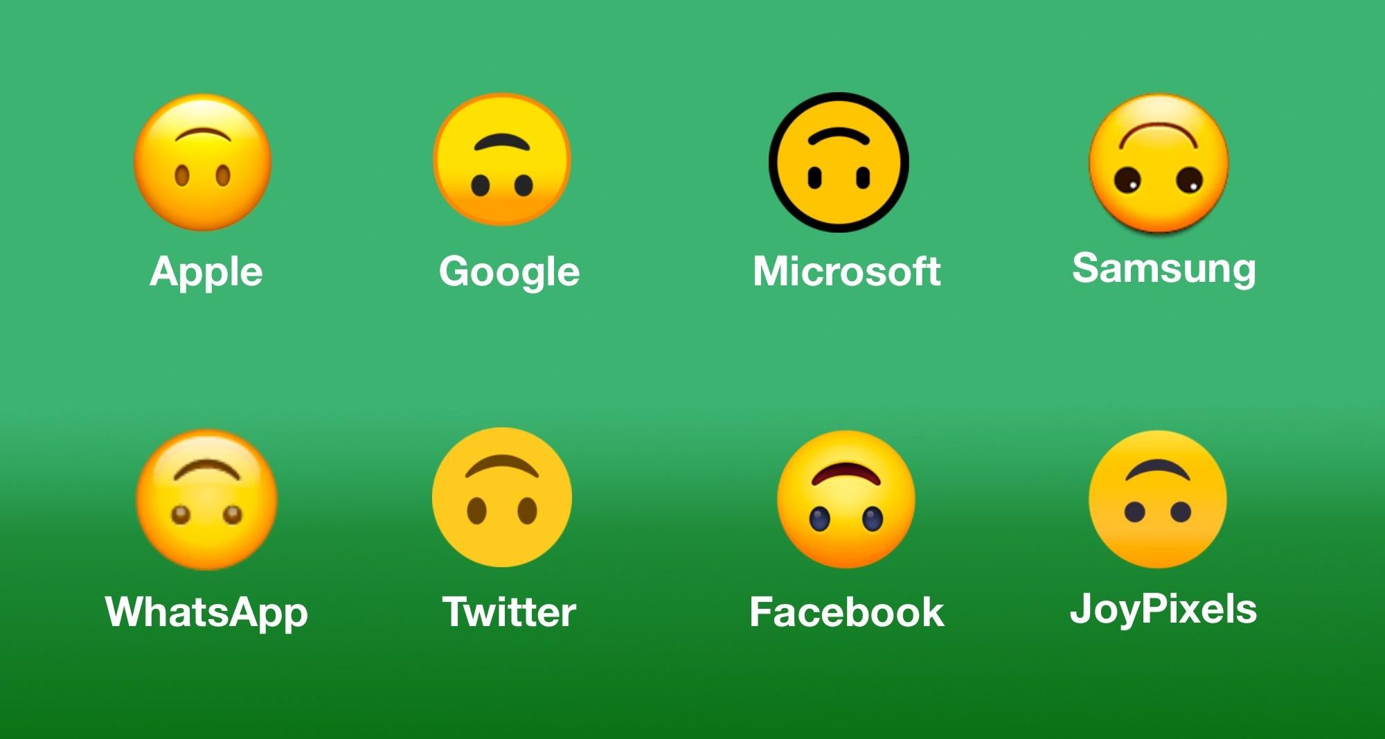 Down mean upside smiley emoji does the what What does