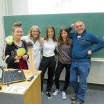 Image for the Tweet beginning: Abschluss des Forscherinnen-Camps am 31.