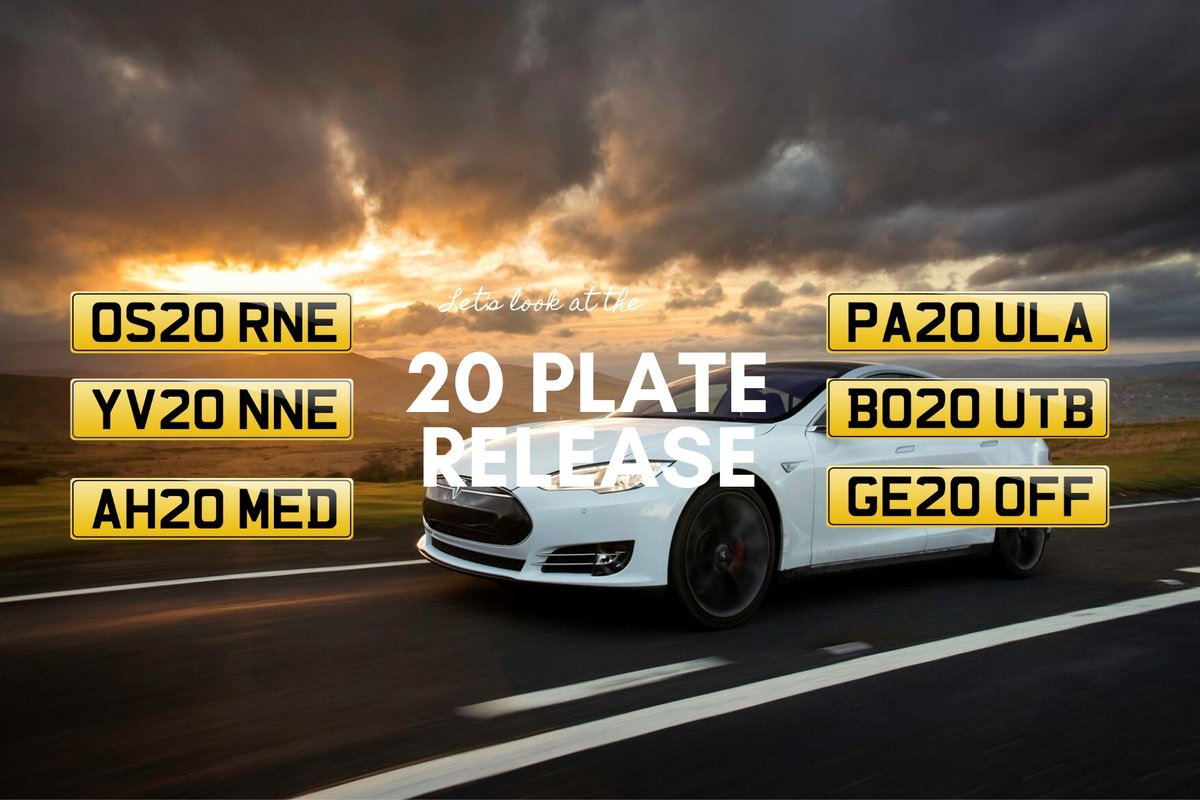 "National Numbers - Plates on Twitter: ""Why should I buy a 20 plate in 2019?  Where is the best place to buy a private registration plate? All these  questions and more are"