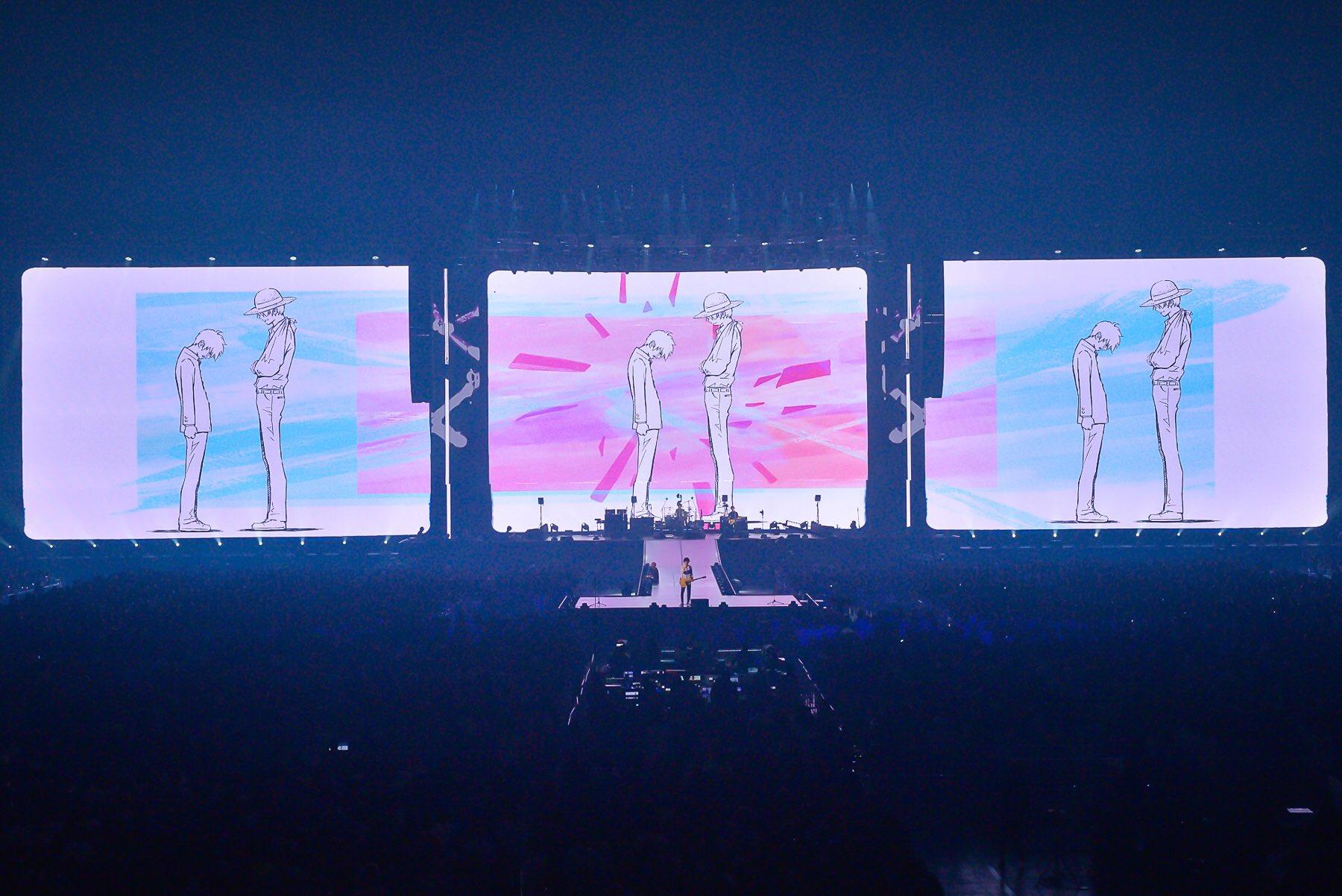 BUMP OF CHICKEN TOUR 2019 aurora ark 記念撮影