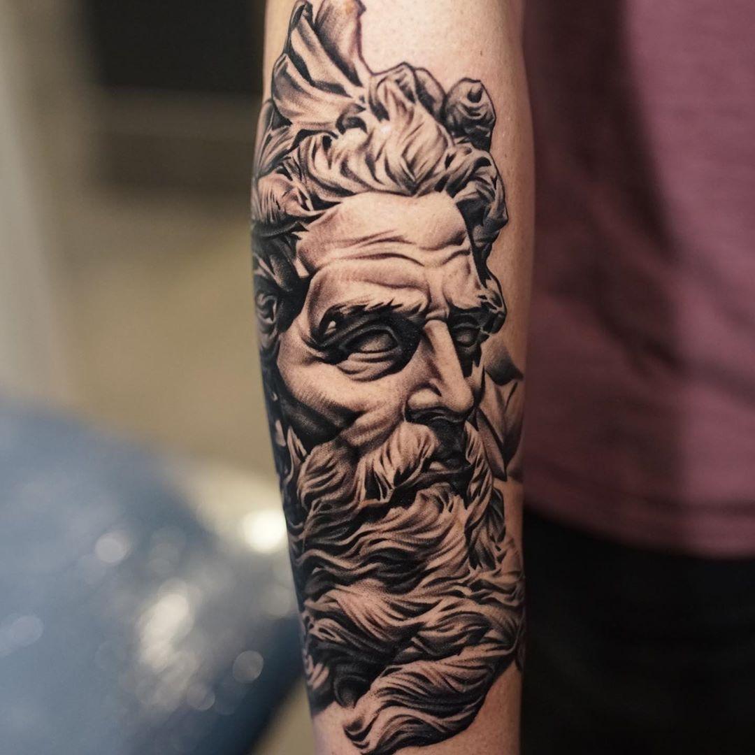 Killer Ink Tattoo On Twitter Killer Poseidon From