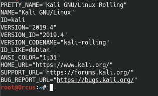 Oooo look :  @kalilinux 2019.4 is out.