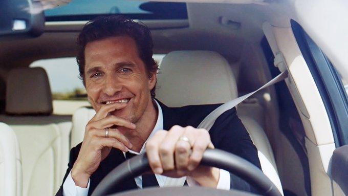 Happy birthday to Matthew McConaughey, who turns 50 today!